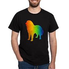 Caucasian Mountain Dog Black T-Shirt