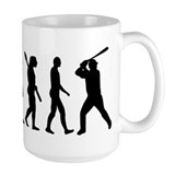 Baseball evolution Mug