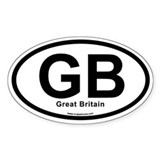 GB - Great Britain Decal