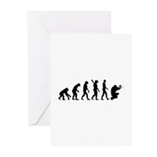 Paintball evolution Greeting Cards (Pk of 20)