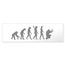 Paintball evolution Bumper Sticker