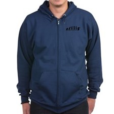 Paintball evolution Zip Hoodie