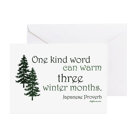 Kind Word Greeting Cards (Pk of 10)