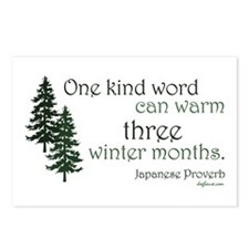 Kind Word Postcards (Package of 8)