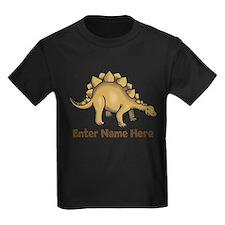 Personalized Stegosaurus T