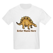 Personalized Stegosaurus T-Shirt