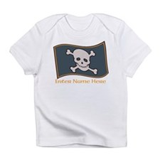 Personalized Pirate Flag Infant T-Shirt