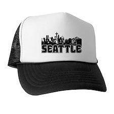 Seattle Skyline Hat