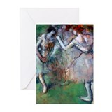 Degas - Group of Dancers Greeting Cards (Pk of 10)
