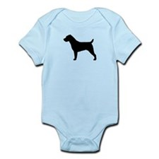 Wirehair Jack Russell Infant Bodysuit