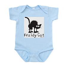 Fraidy Cat Infant Creeper