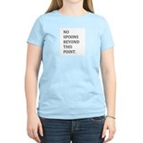 No Spoons one direction T-Shirt