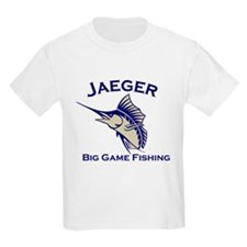 Jaeger Big Game Fishing T-Shirt