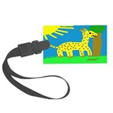 HI54ECO™ Girard Giraffe Boy Large Luggage Tag