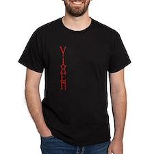 Vertical Vixen Black T-Shirt
