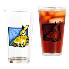 Rabbit Drinking Glass