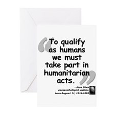 Silva Human Quote Greeting Cards (Pk of 20)