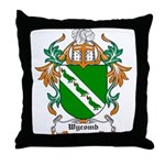 Wycomb Coat of Arms Throw Pillow
