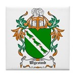 Wycomb Coat of Arms Tile Coaster
