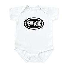 New York Euro Infant Creeper