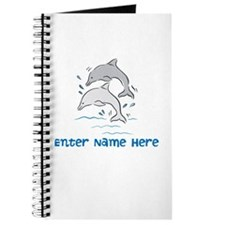Personalized Dolphins Journal
