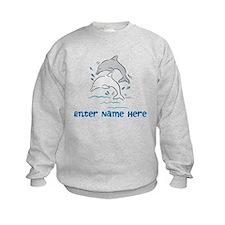 Personalized Dolphins Sweatshirt