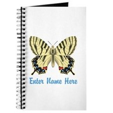 Personalized Butterfly Journal