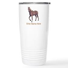 Personalized Horse Travel Mug