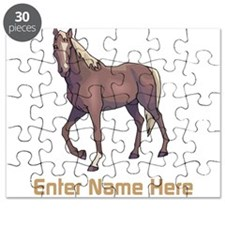 Personalized Horse Puzzle
