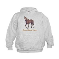 Personalized Horse Hoody