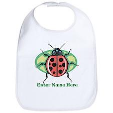 Personalized Ladybug Bib