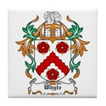 Whyte Coat of Arms Tile Coaster