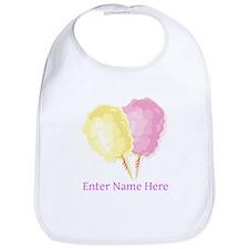 Personalized Cotton Candy Bib