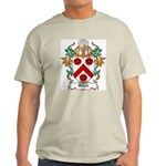 Whyte Coat of Arms Ash Grey T-Shirt