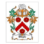 Whyte Coat of Arms Small Poster