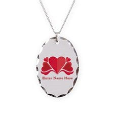 Personalized Hearts Necklace
