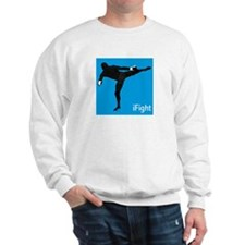 iFight (blue) Sweatshirt