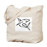Tribal Shark Tote Bag