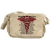 Funny Nurse Messenger Bag