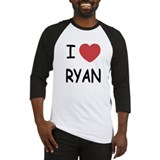 I heart RYAN Baseball Jersey