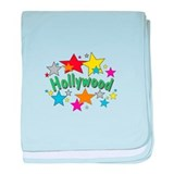 Hollywood Stars Shop baby blanket