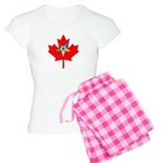 OES Canadian Maple Leaf Women's Light Pajamas