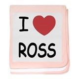 I heart ROSS baby blanket