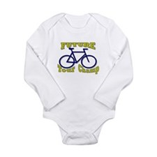 Yellow jersey Long Sleeve Infant Bodysuit