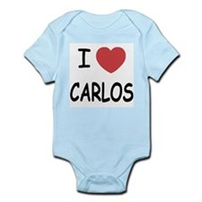 I heart CARLOS Infant Bodysuit