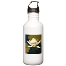 White Water Lily Water Bottle