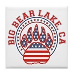 BIG BEAR LAKE Tile Coaster