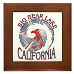 BIG BEAR LAKE Framed Tile