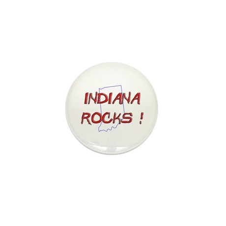 Indiana Rocks ! Mini Button