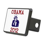 Obama 2012 Rectangular Hitch Cover